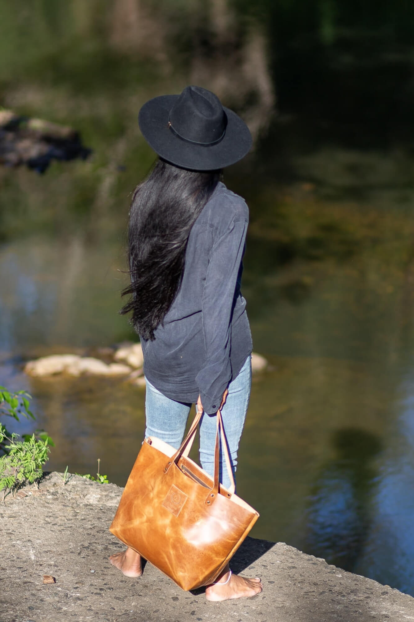 Bodhi Light Mini Tote Bag - Aurelius Leather