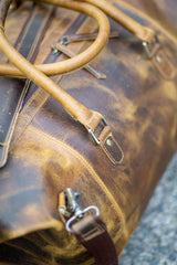 Leather Hunter Light Travel Bag