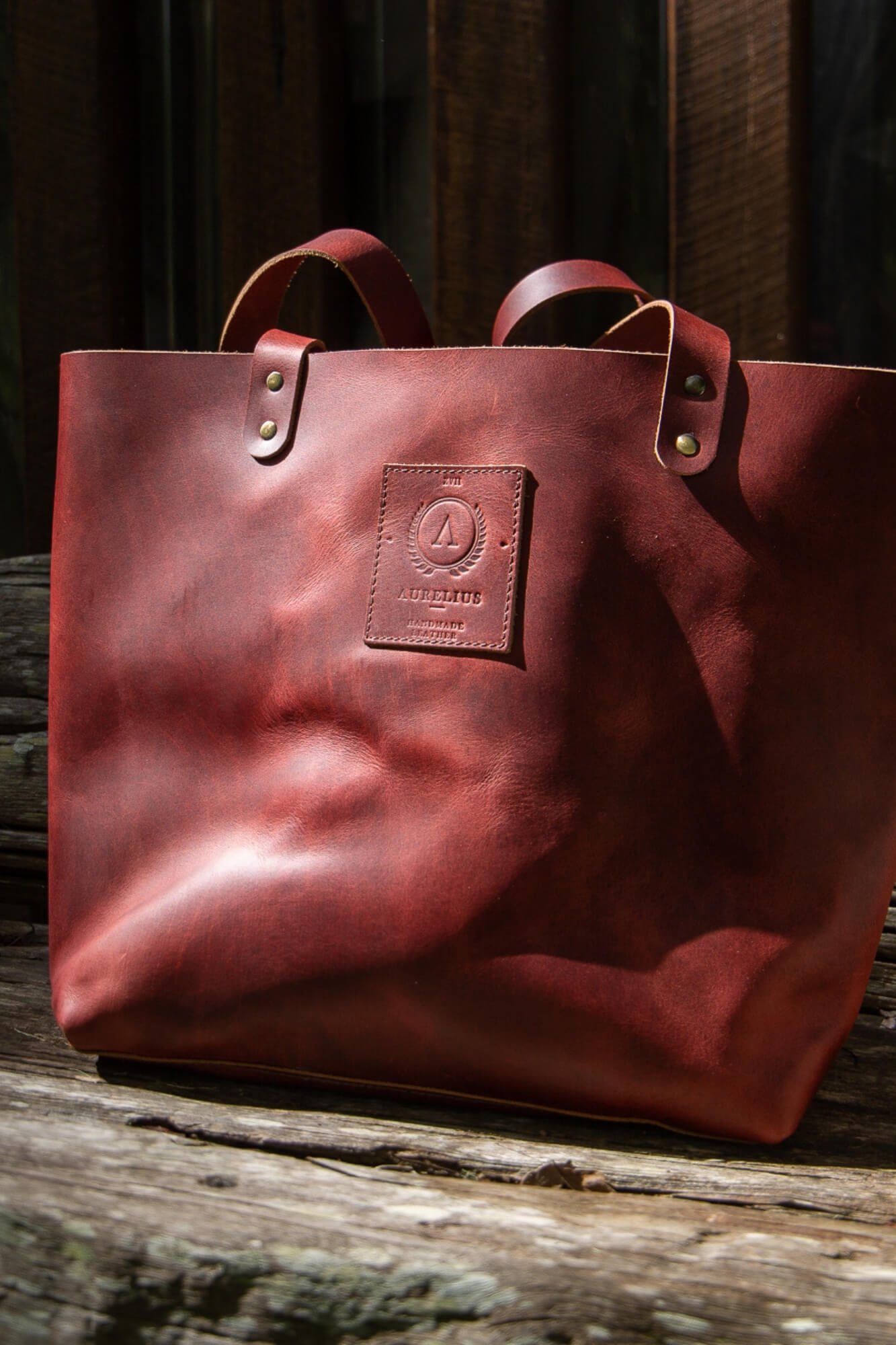 Indie Leather Tote mini - Aurelius Leather