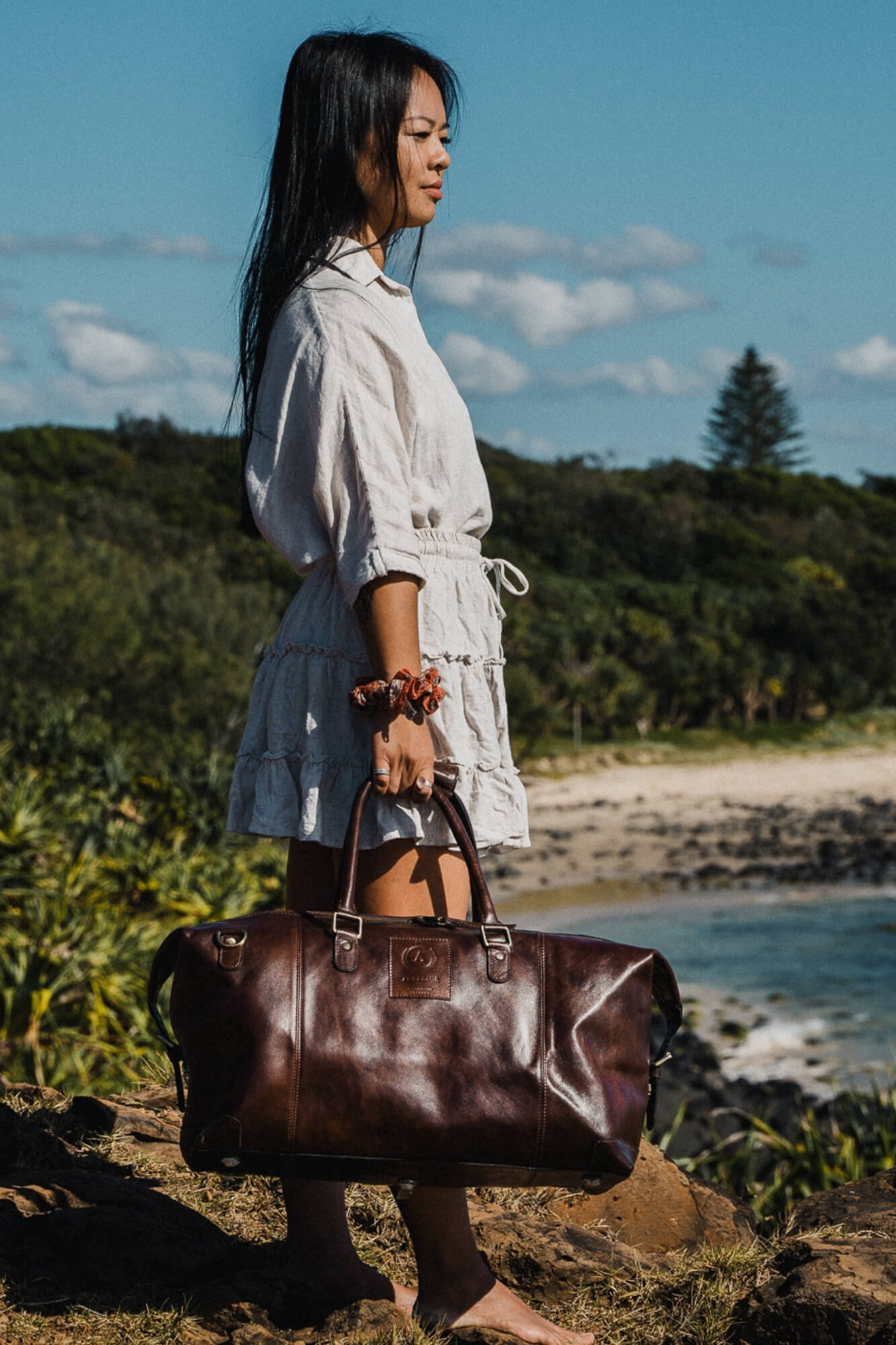 Leather Thornbury Travel Bag - Aurelius Leather