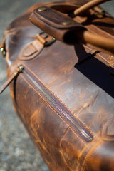 Leather Collingwood Traveler Bag - Aurelius Leather