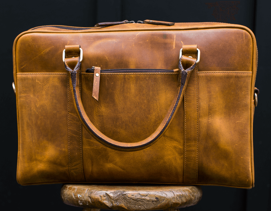 Leather Chester Laptop Case - Aurelius Leather