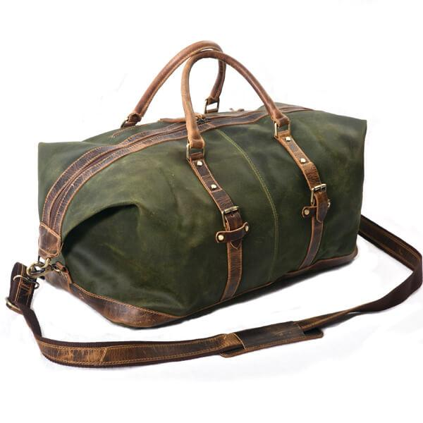 Malinor Weekend Travel Leather bag - Aurelius Leather