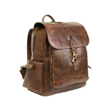 Charles Tan leather backpack - Aurelius Leather