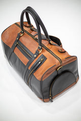 Leather Kana Gym Bag - Aurelius Leather
