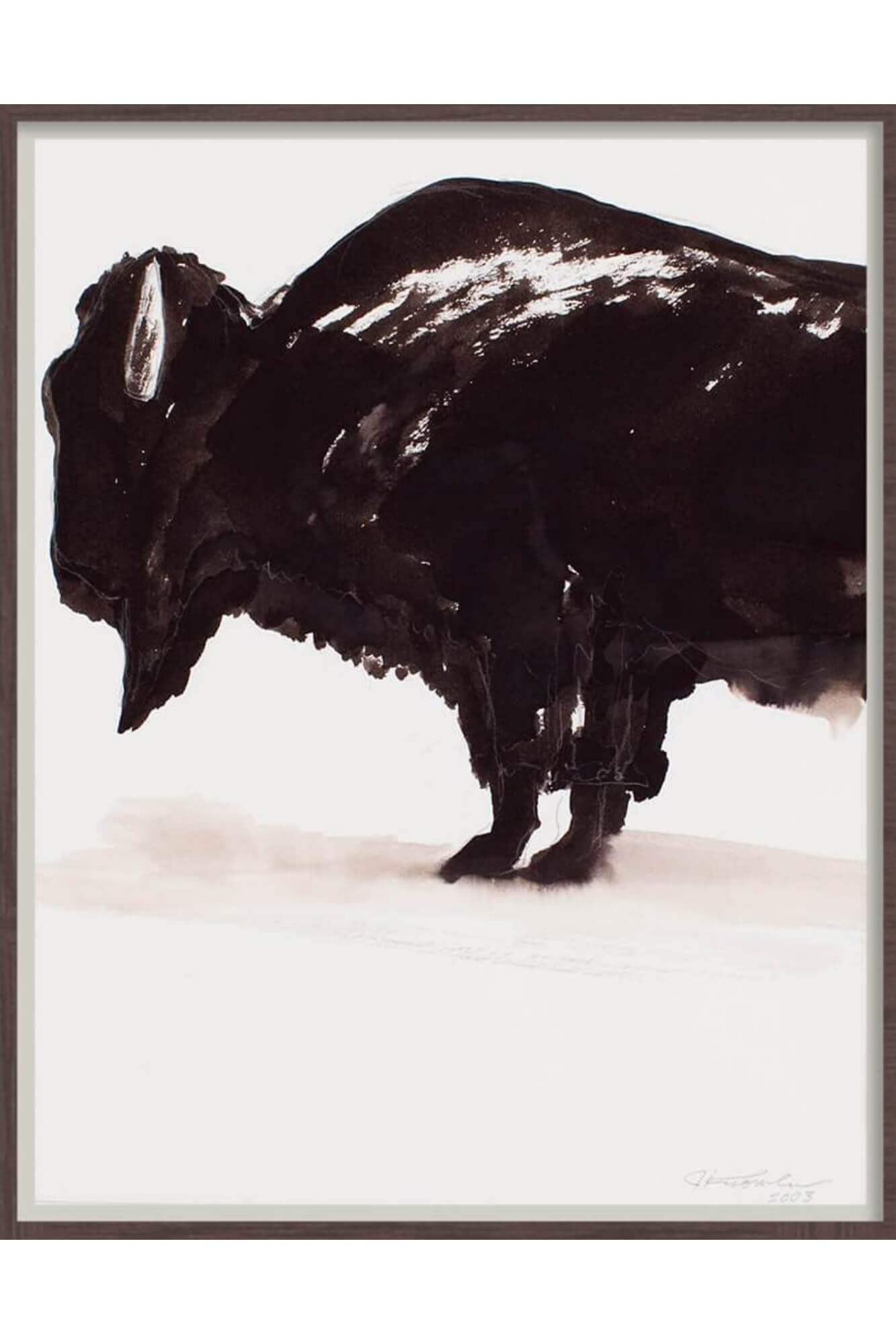 Artwork Bison - Aurelius Leather