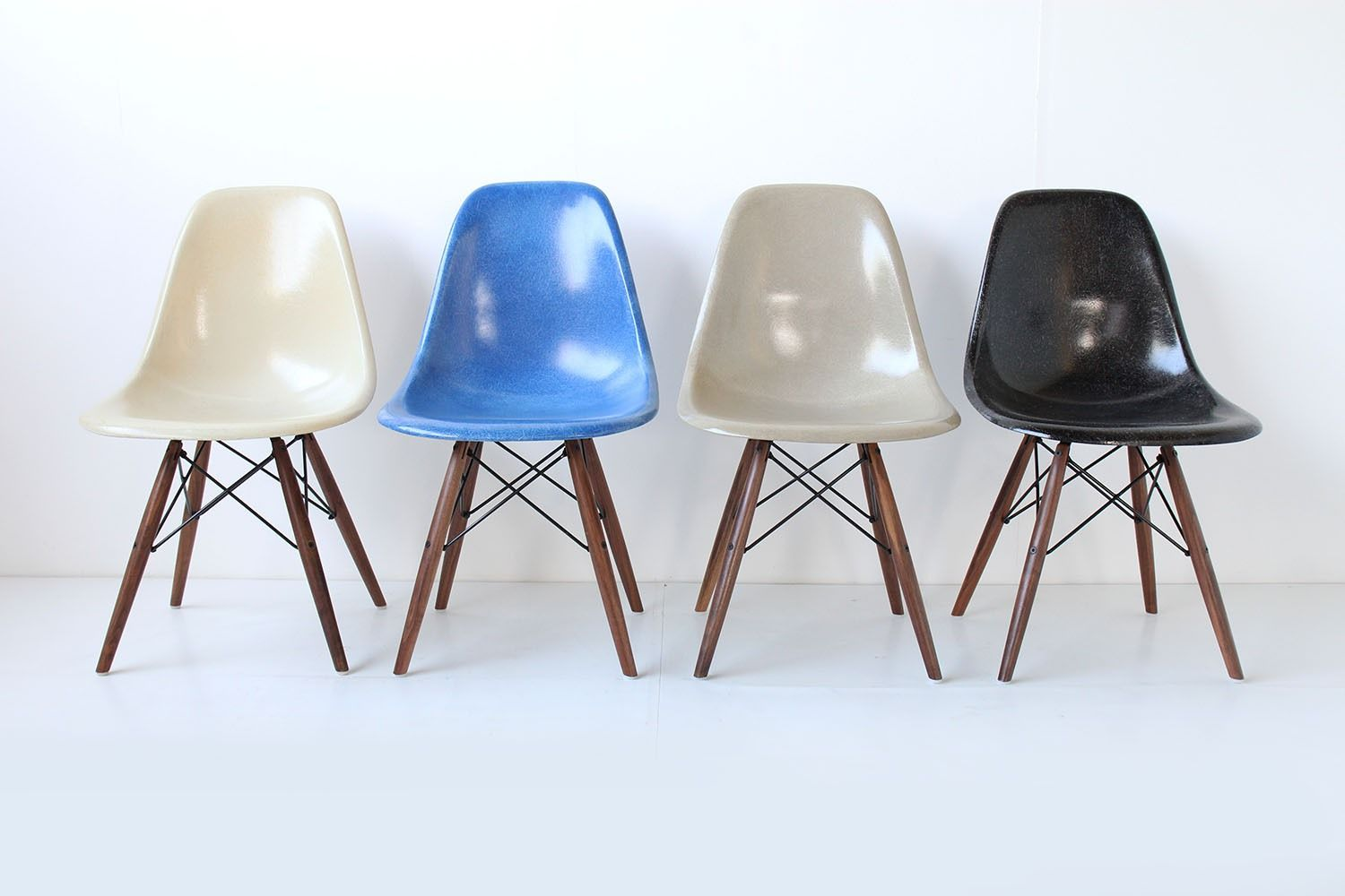 Charles and Ray Eames chairs