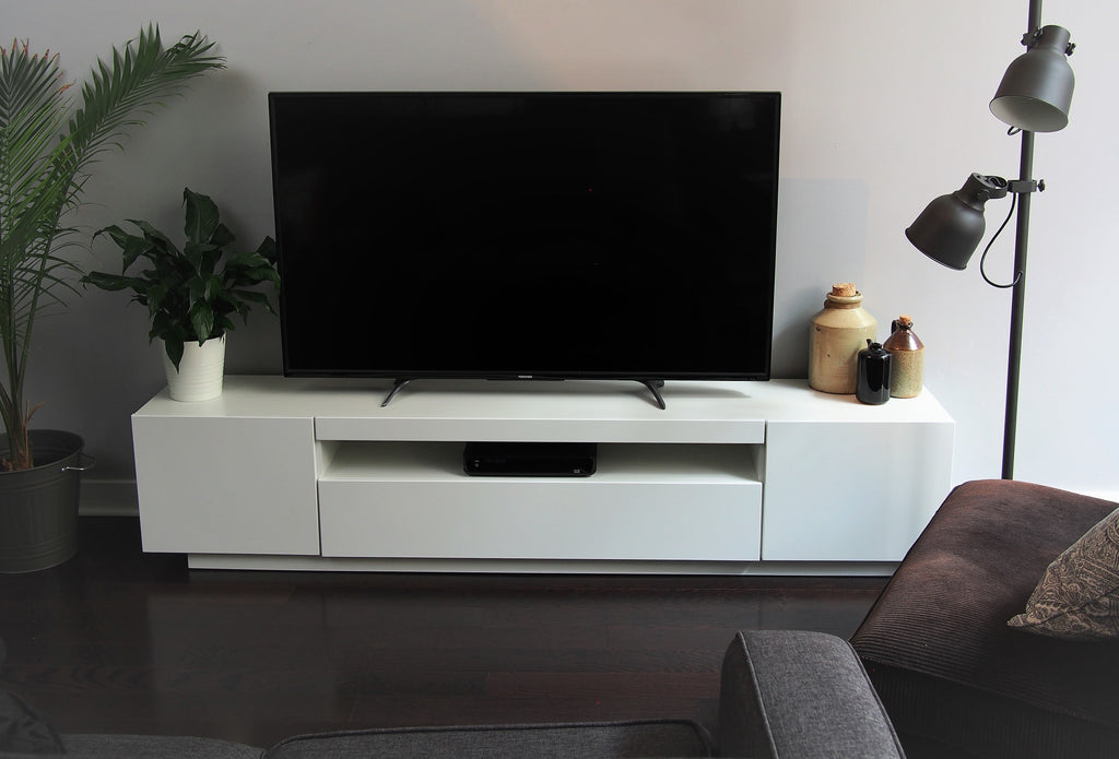 White SAMSO TV Cabinet