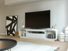Contemporary TV Cabinet - White SAMSO TV STAND