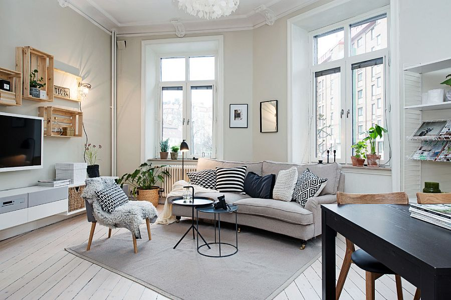 Scandinavian Contemporary Styled Living room