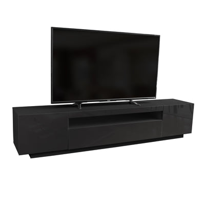 SAMSO TV Stand - Black for TVs up to 85""