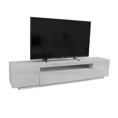 Samso TV Stand - Light Grey for TVs up to 75""
