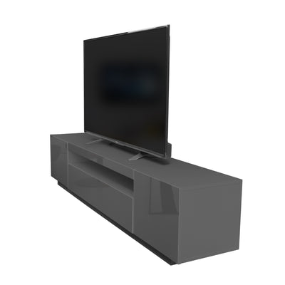 Samso TV Stand - Graphite Grey for TVs up to 75""