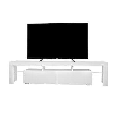 COPENHAGEN TV Stand - White for TVs up to 80""