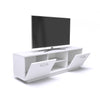 Roskilde TV Cabinet - White for TVs up to 70""