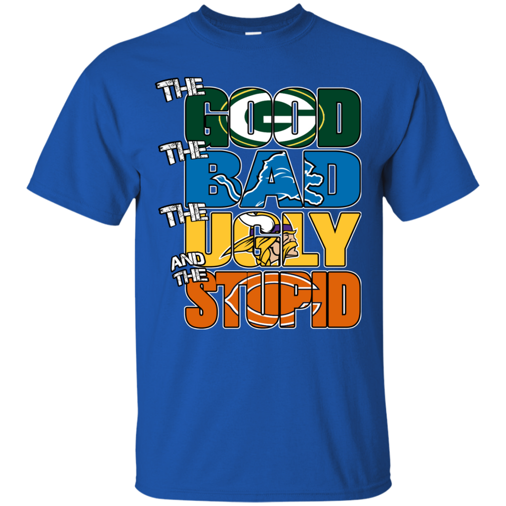 04a0c88a3 Green Bay Packers - The Good The Bad The Ugly And The Stupid T-shirts