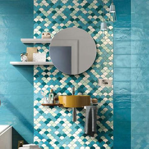 Shades Fish Scale Mosaics