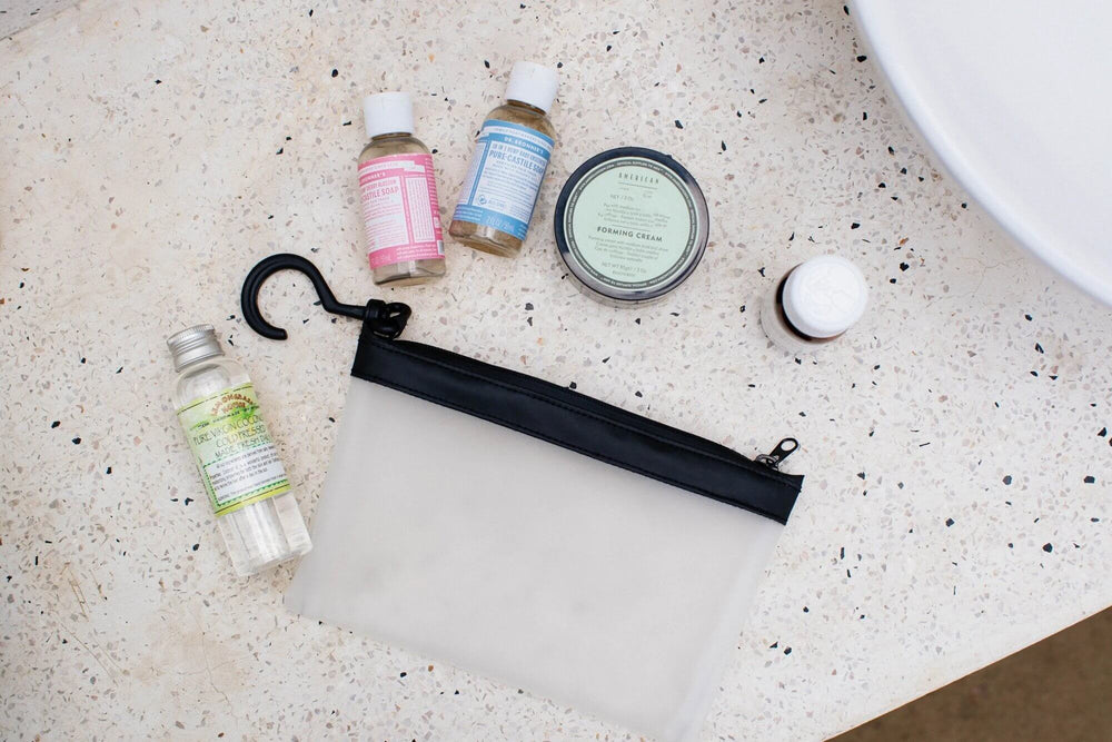 Guest Post: Minimize your toiletries so they're easier to pack, carry, and use traveling | Gravel