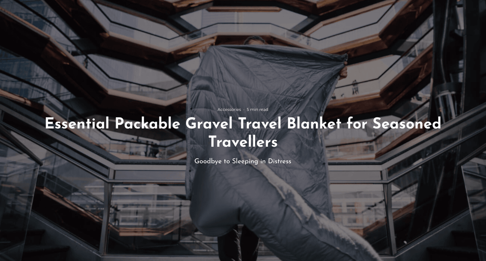 One Tech Traveler | Gravel