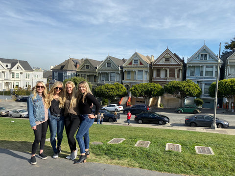 painted ladies - full house - San Francisco