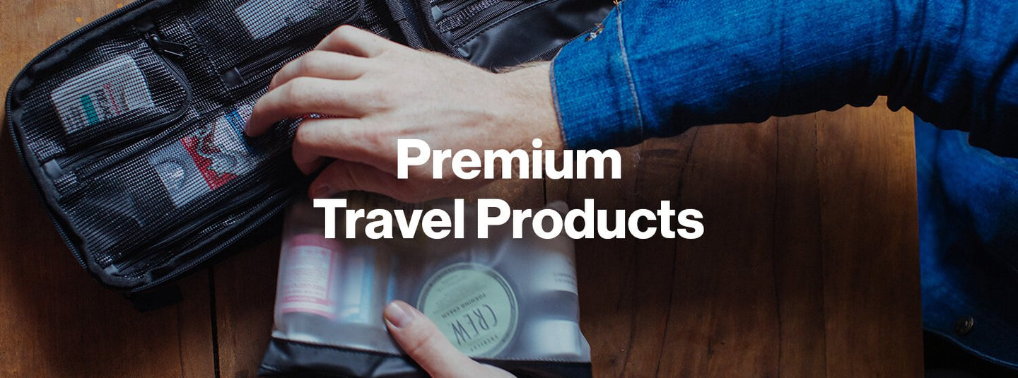 Premium Travel Products. World's Best Toiletry Bags (aka Dopp Kit's, Toiletry Kit's, Ditty Bags, Wash Bags)