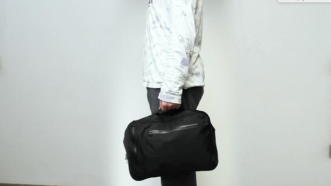 11 Liter backpack as a briefcase