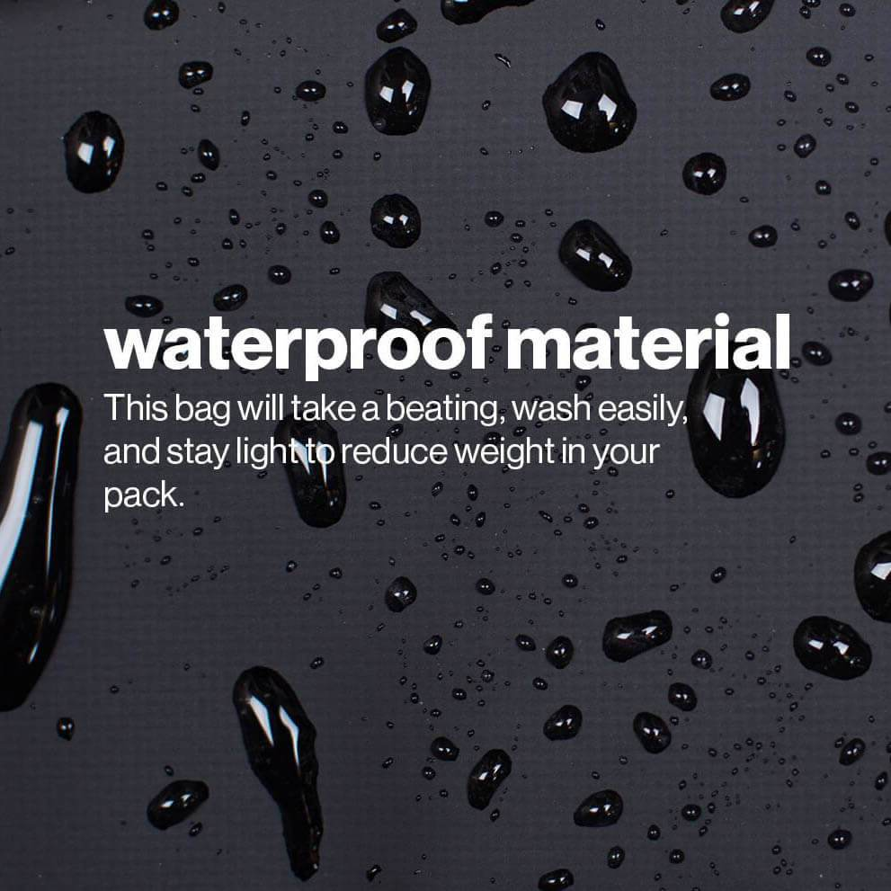 Load image into Gallery viewer, Waterproof materials make it easy to wash the bag