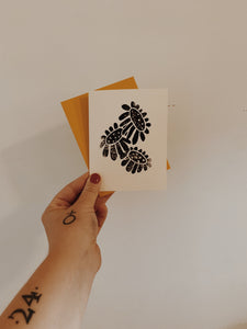 SET OF 9 FLOWERS CARDS