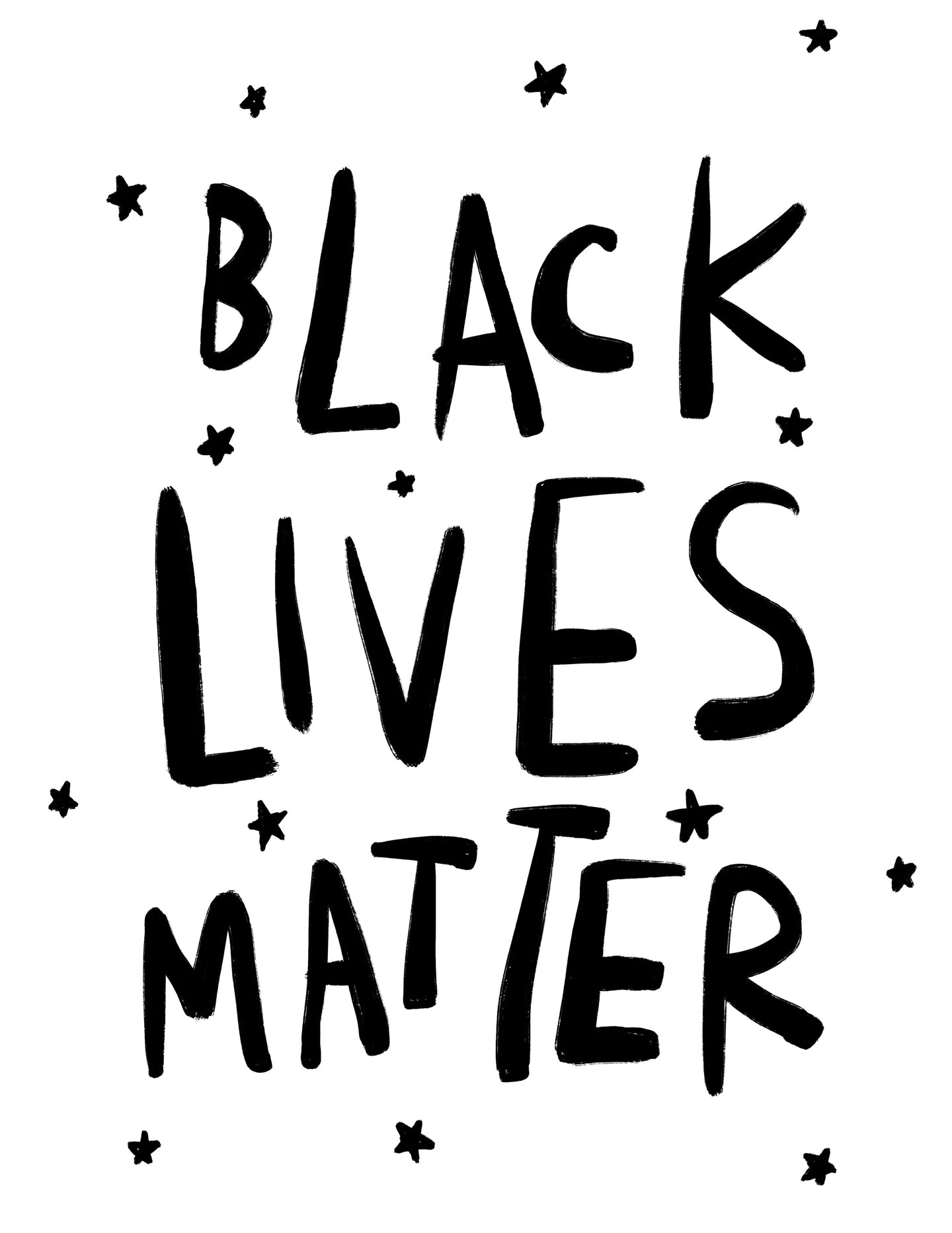 (print at home) BLACK LIVES MATTER