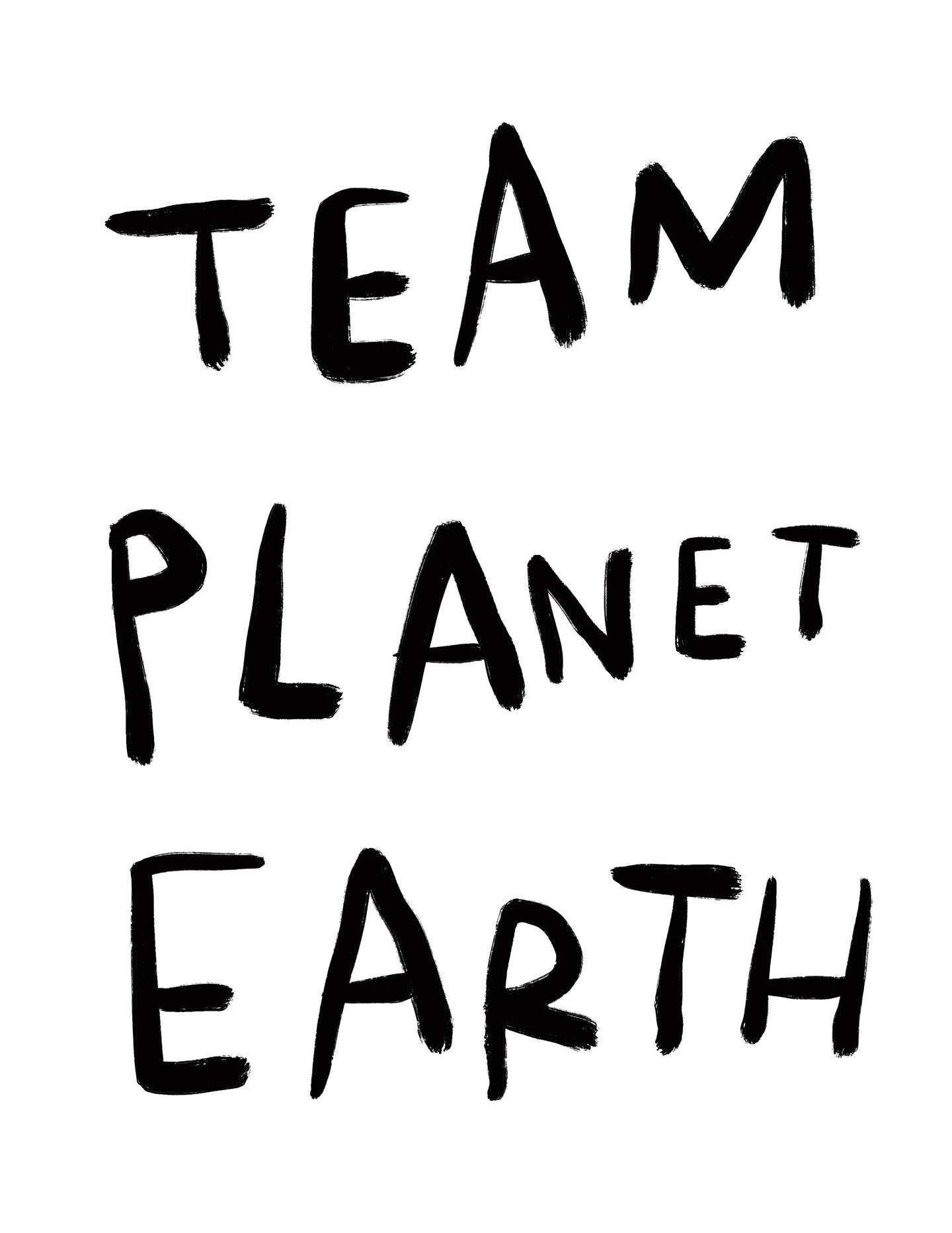 (print at home) TEAM PLANET EARTH