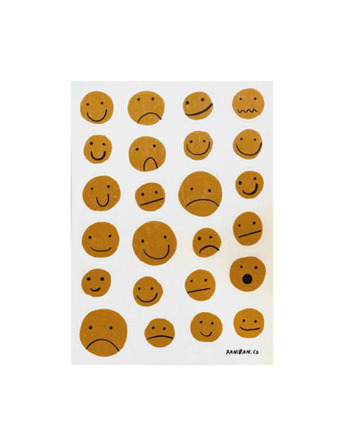 MIXED FEELINGS STICKER SHEET