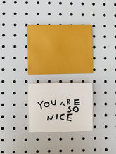 YOU ARE SO NICE CARD