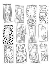 (Print at home) BUTTS & OTHER THINGS* TO COLOR ~ COLORING BOOK