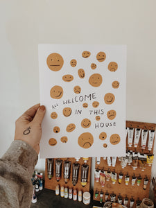 All Welcome In This House Print