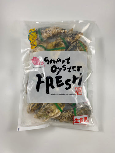 Japanese Hiroshima Oysters with Shell, Kaki (12pc) 広島産 生かき 殻付き(12個入り)