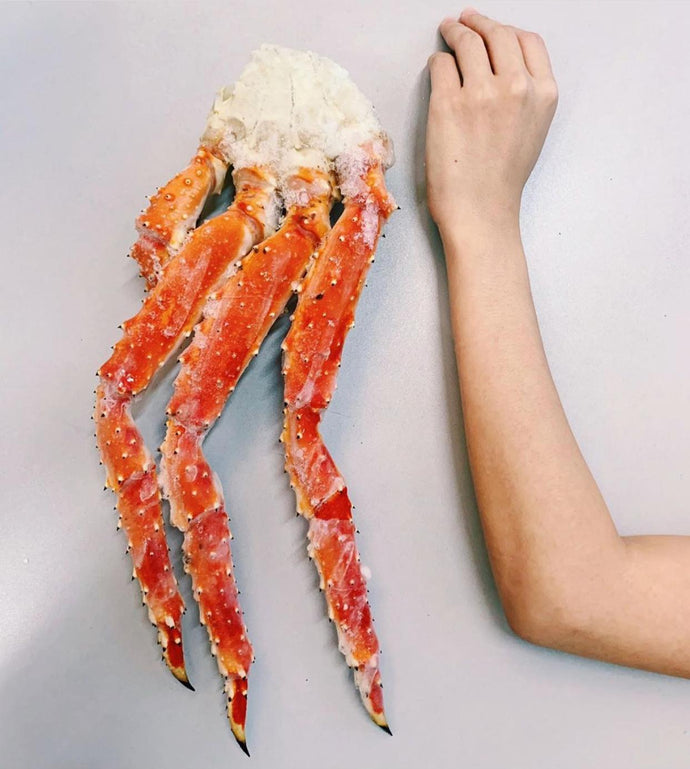 Japanese King Crab Leg (Raw) 6L - 1.2kg