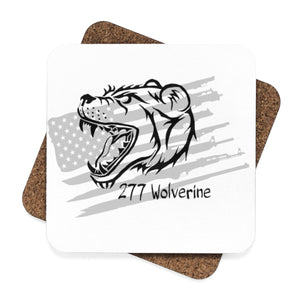 Square Hardboard Coaster Set - 4pcs