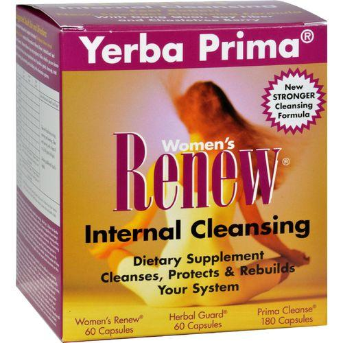 Yerba Prima Women's Renew Internal Cleansing - 1 Kit