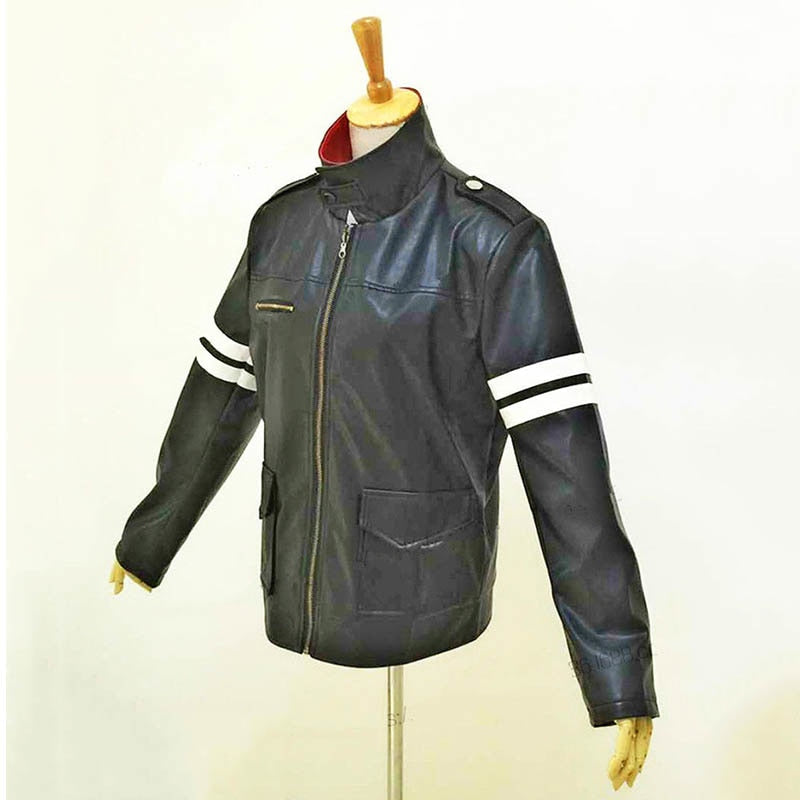 Games Prototype Alex Mercer Cosplay Costumes Pu Leather Winter Jackets Coat Dragon Embroidery Mens Jacket For Boys Clothing Costumes & Accessories