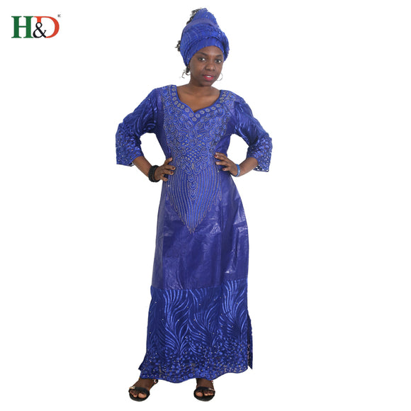 African dresses for women african head wraps robe africaine beading lace bazin outfit dress african clothes south africa
