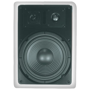 "Architech 8"" Kevlar In-wall Speakers"