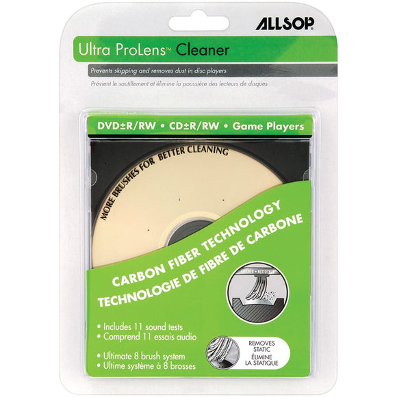 Allsop Dvd & Cd Laser Lens Cleaner