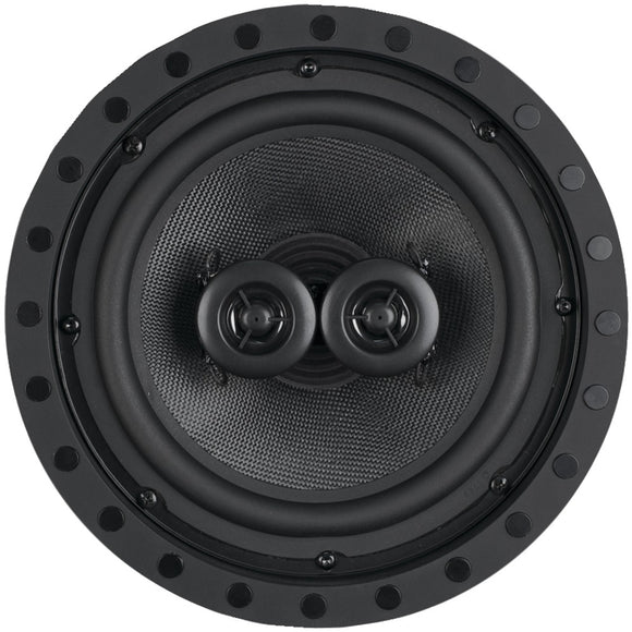 "Architech 8"" 2-way Kevlar Series Dual Voice Coil Single-point Stereo Frameless In-ceiling And Wall Loudspeaker"
