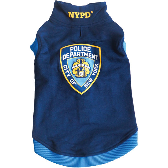 Royal Animals Nypd Dog Sweatshirt (large)