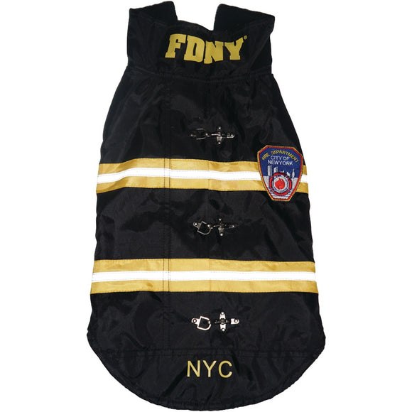 Royal Animals Fdny Water-resistant Dog Coat (x-small)