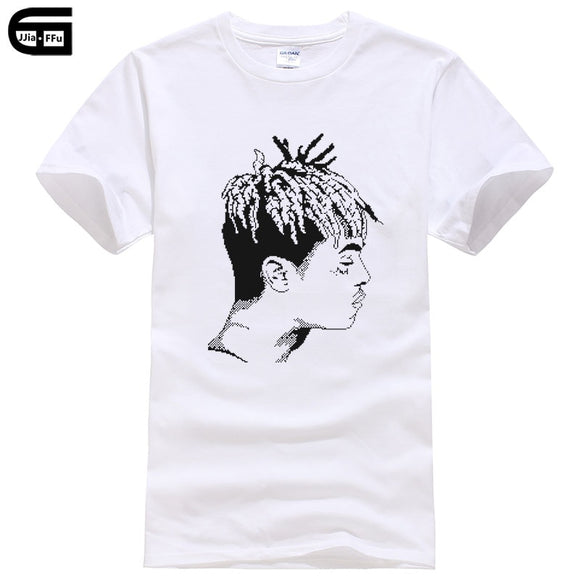 Xxxtentacion Short Sleeve Men Clothing Cool T-Shirt Fashion Casual Fitness O-neck Men's Print T Shirt Summer Cotton Tee T285