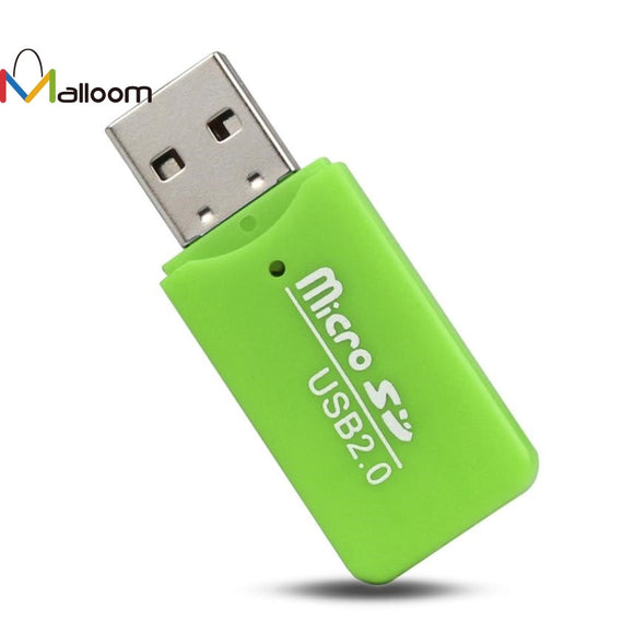 High Speed Mini USB 2.0 Micro SD TF T-Flash Memory Card Reader Adapter Micro In Mobile Phone Cable#20