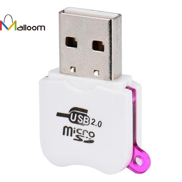 Wholesale Price High Speed Mini Micro SD USB 2.0 Micro  TF T-Flash Memory SD Card Reader Adapter#20