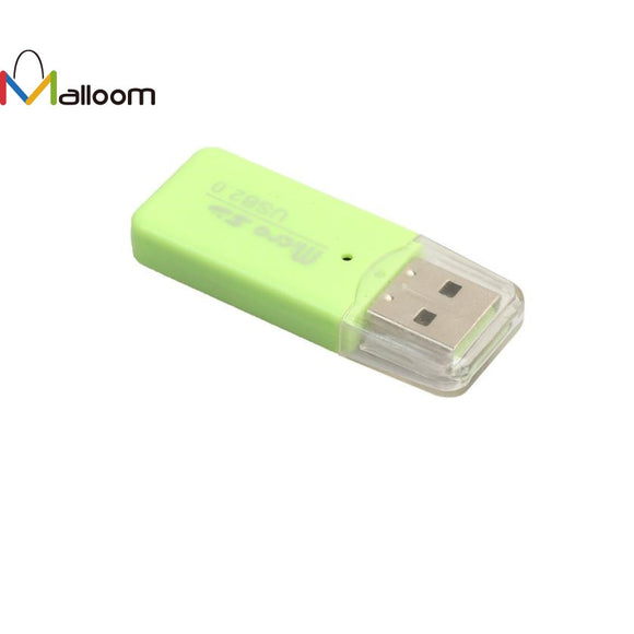 SD Card Reader New  High Speed Mini USB 2.0 Micro SD TF T-Flash Memory Card Reader Adapter#40