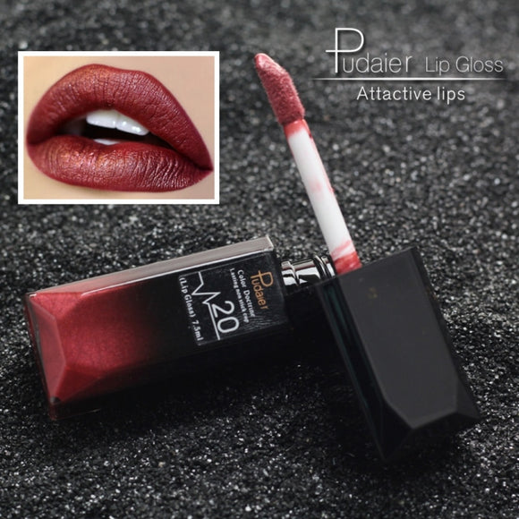 pudaier 21 Colors Matte Liquid Lip Gloss Waterproof 24 Hours Long Lasting Velvet Lipstick Makeup Cosmetics Dropshipping